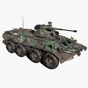 BTR 82A 3D model