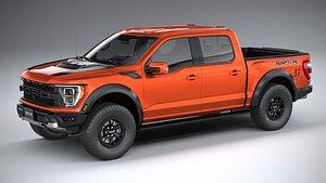 Ford F150 Raptor 2021 3D model