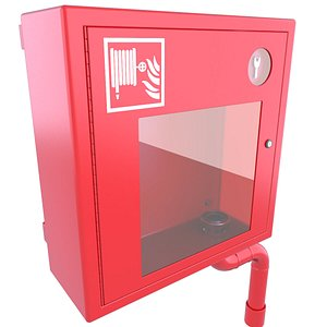 3D model box hose emergency