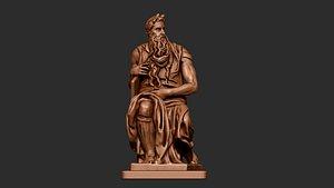 michelangelo s sculpture dynamesh 3D