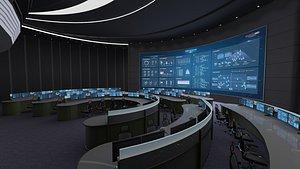 control room center 3D