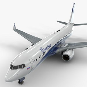 Boeing 737-8 MAX NORDSTAR Airlines L1343 model