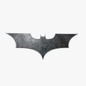 batman batarang 3D model