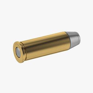 3D bullet magnum 44 model