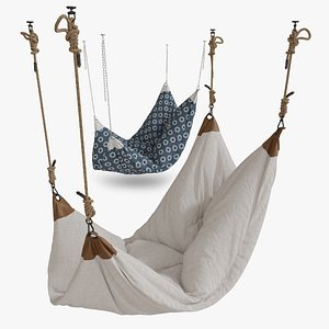 Hanging Chair 02 3D model