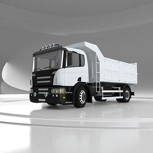 3D model Tipper Truck v07