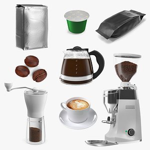 3D Coffee Collection 4