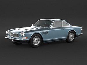 3D model 1965 Maserati Sebring 3500 Gti