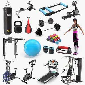 Gym Collection 7 3D