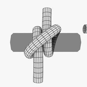knot hitch model