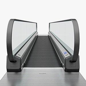 moving walkway 3D model