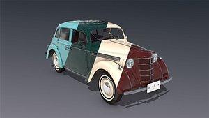 low-poly 1938 3D