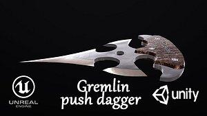Push dagger Gremlin 3D