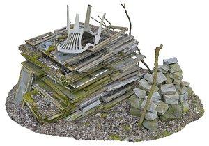 slums scan 3D model