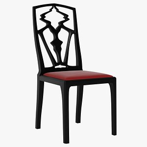 3D Turtleback Chair model