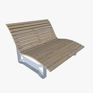 sunbath outdoor model