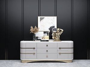 3D Modern Style Console - 033 C