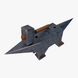 3D Incudine e martello model