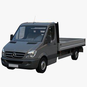 3D sprinter van truck model