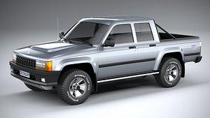3D Generic Pickup 1980