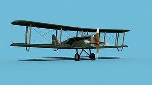Airco DH-4 V02 US Air Mail 3D model