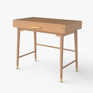 3D desk wood