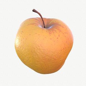 09 hy apple fruit 3D model