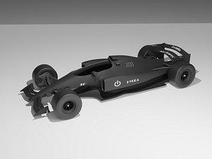 f1 formula car 3D model