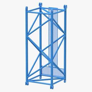 crane l intermediate section 3D model