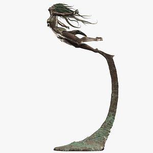 sculpture female 3D model