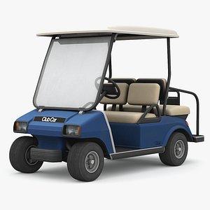 3D Clubcar golf cart
