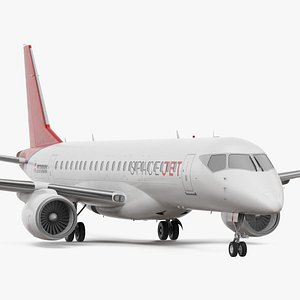 Mitsubishi SpaceJet M90 Exterior Only 3D