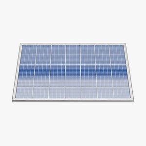 3D Solar Panel Plate 2