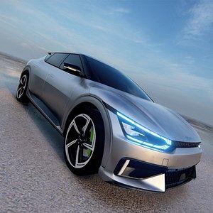 Kia EV6 GT 2022 3D 3D model