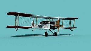 3D Airco DH-4 Johnson Bros Oil Co model