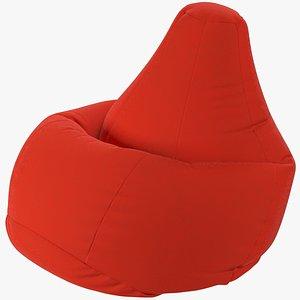 Bean Bag Chair V6 3D model