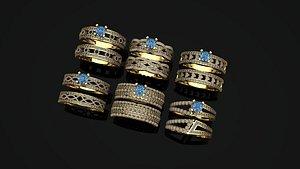 ring twenz 3D model