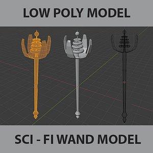 3D wand sci fi