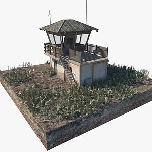 3D model building airport