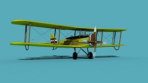 3D model Airco DH-4 V06 Flying Circus