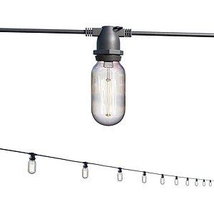 3D String Lights Edison Lamps