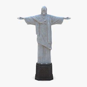 3D Christ the Redeemer Statue