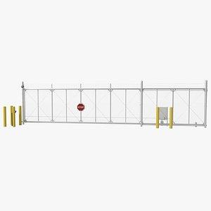 3D Cantilever Gates