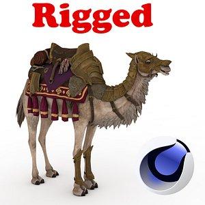Camel Rigged 3D 3D
