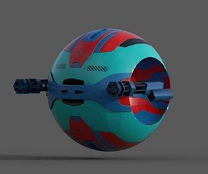 ScifiBall 3D model