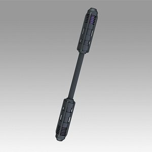 3D NECA Batman Arkham Knight Prop Replica Nightwings Escrima Stick