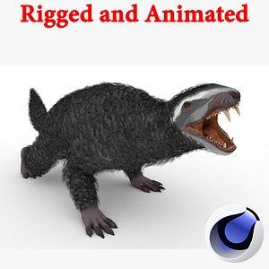 3D Purlovia Rigged and Animated