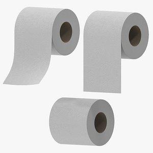 Toilet Paper Pack 3D model