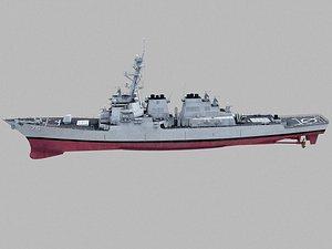 DDG-75 Donald Cook  Burke class model