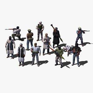terrorist games ak47 3d model